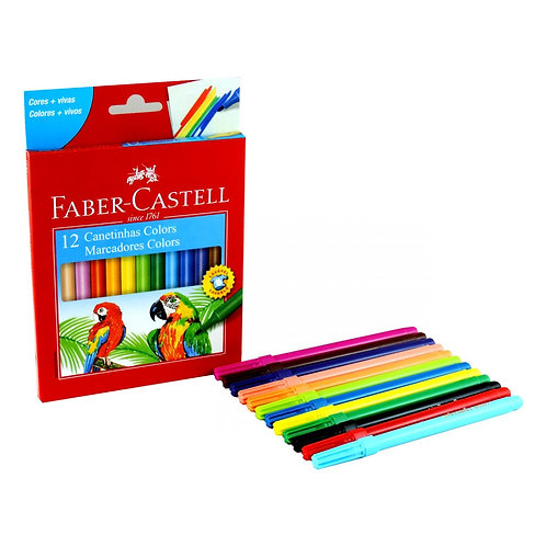 2 - Faber Castell - 12 cores