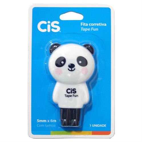 1 - Corretivo Cis Panda Tape Fun (Fita)