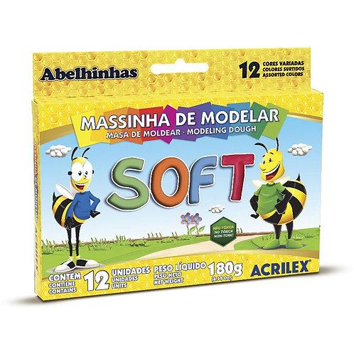Massinha Soft Acrilex 180g