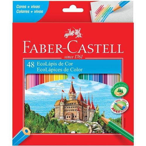 EcoLápis 48 cores Faber Castell