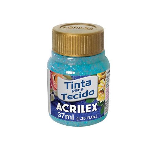 Acrilex - Azul Turquesa Glitter