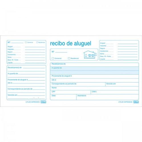 Recibo de Aluguel c/ Canhoto