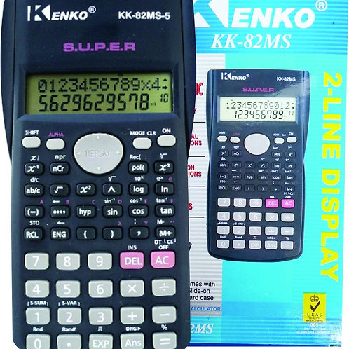 Calculadora Jenki KK82MS Cientifica Bateria