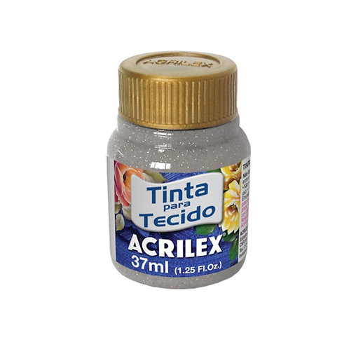 Acrilex - Prata Glitter