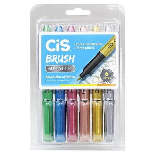 Caneta Brush Cis Metallic
