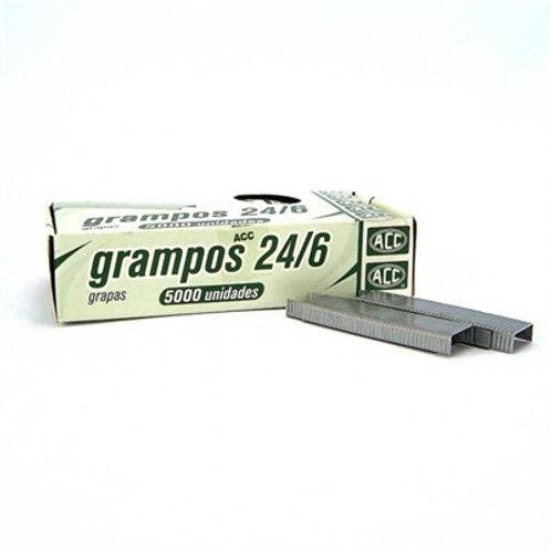 Grampos 24/6