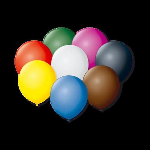 Balões São Roque Sortidos Nº7 Liso