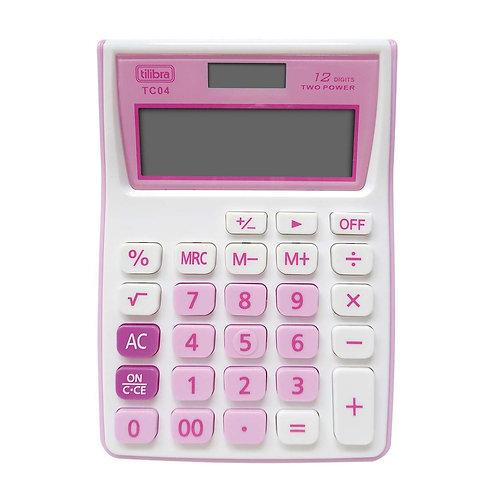 Calculadora Eletrônica Tilibra TC04 - Bateria