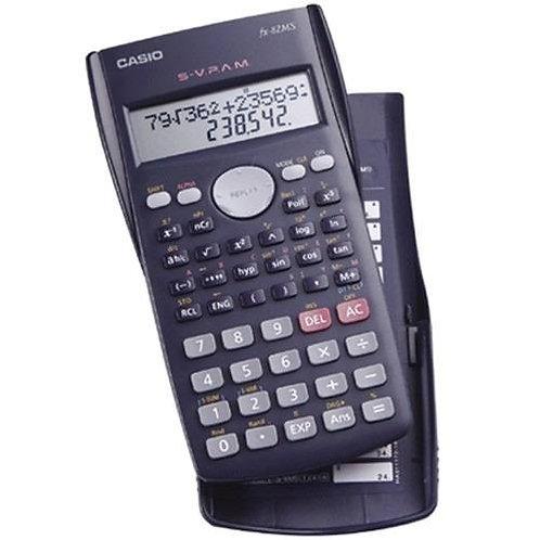 Calculadora Cientifica Casio Fx82MS bateria 2A