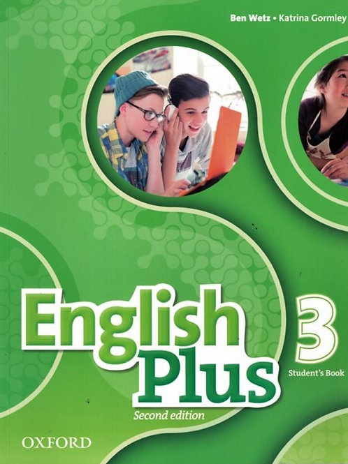 English Plus - Student's Book - 3