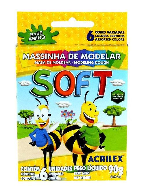 Massinha Soft Acrilex 90g