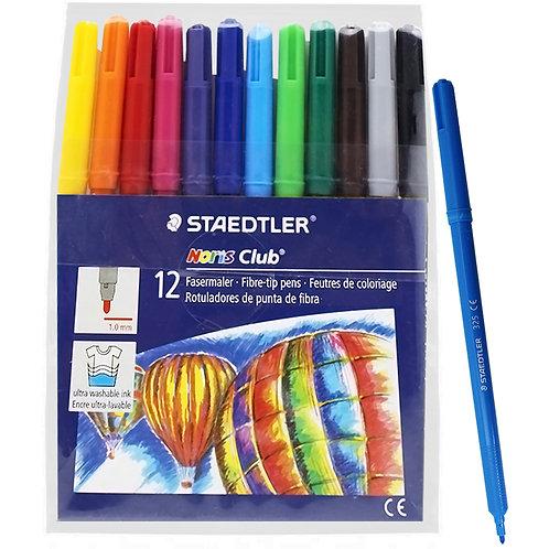 7 - Staedtler - 12 cores