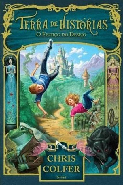 Terra de histórias o feitiço do desejo