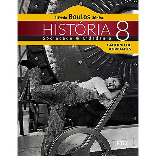 História sociedade e cidadania Caderno de atividades
