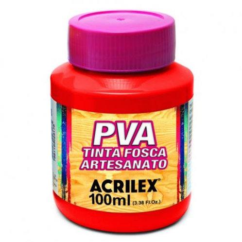 Acrilex - Vermelho PVA