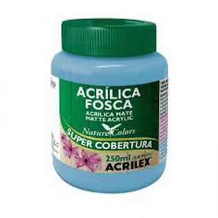 Tinta Acrilex acrilica fosca 250ml azul celeste 503