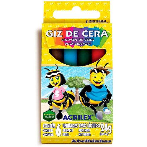 Giz de Cera Acrilex 24g