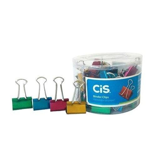 Clips Binder CIS Metalizado