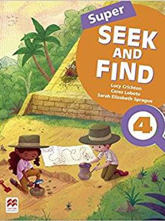 Inglês super seek and find Student Bokk Digital Pack 4