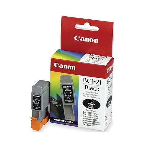 Cartucho Canon BCI21 Preto