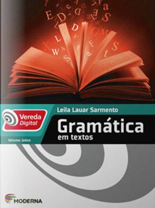 Vereda Digital - Gramática em textos