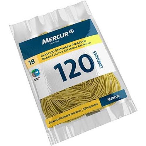 Elástico Mercur Standard amarelo nº18