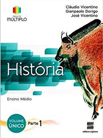 História projeto múltiplo volume único