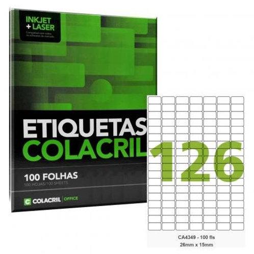 Etiqueta adesiva Colacril CA4349