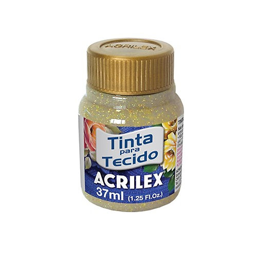 Acrilex - Ouro Glitter