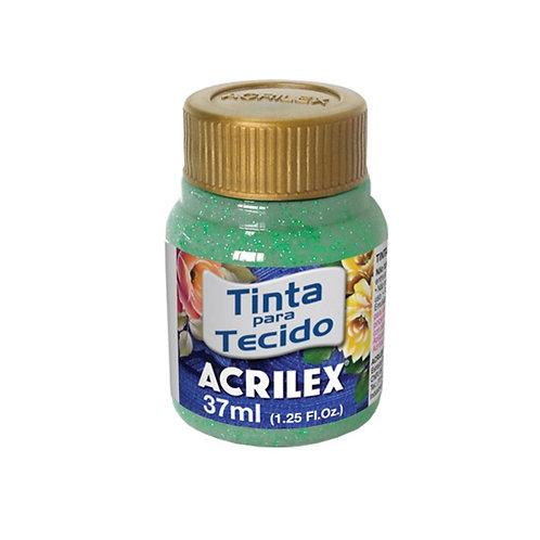 Acrilex - Verde Glitter