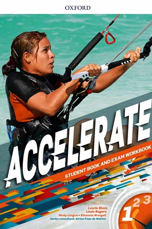 Accelerate - Student Book and exam Workbook - 1