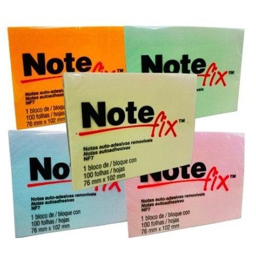 Bloco adesivo NoteFix 76x102mm