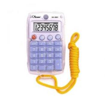 Calculadora  8DG com cordão KK8961 Kenko