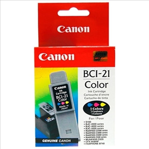 Cartucho Canon BCI21 Color