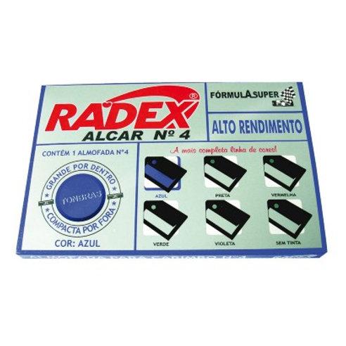 Almofada de carimbo Radex N4
