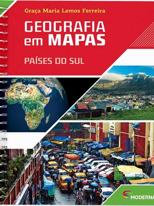 Geografia em Mapas - Países do Sul
