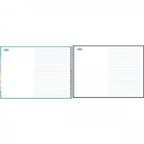 Caderno meia pauta Tilibra Sapeca 40 folhas Capa Sortida