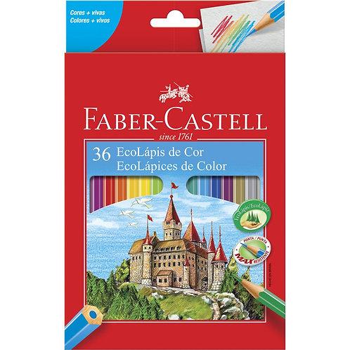 EcoLápis 36 cores Faber Castell