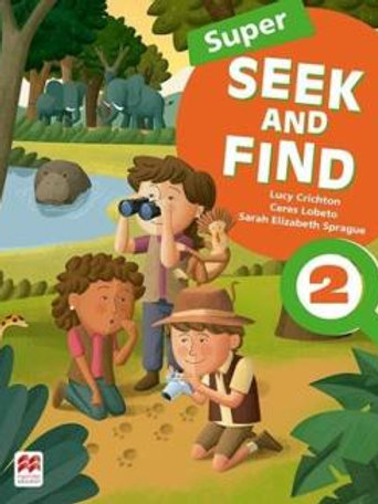 Inglês Super Seek and find Student book digital Pack 2