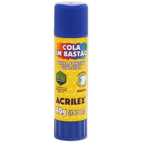 8 - Cola Bastão Acrilex 40g