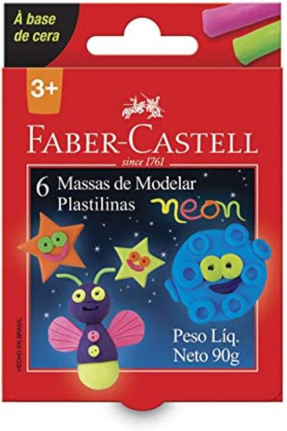 Massinha Neon 90g Faber Castell