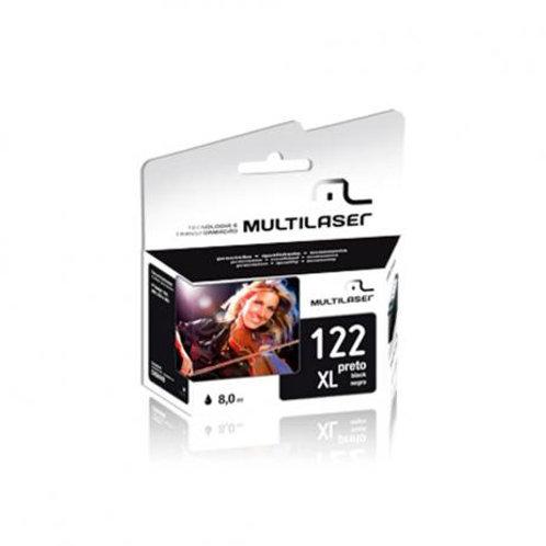 Cartuchos 122 XL Preto Multilaser