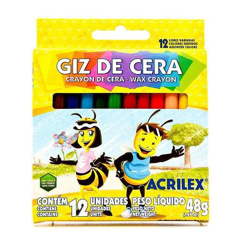 Giz de Cera Acrilex 48g