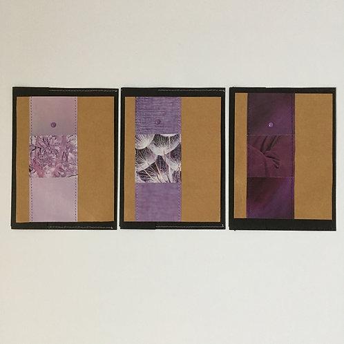 Piccolokarten violetta