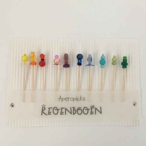 """Aperopicks """"Regenbogen"""""""