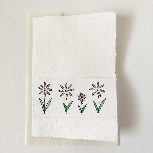 Karte Blumenband
