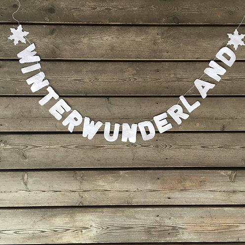 Girlande Winterwunderland