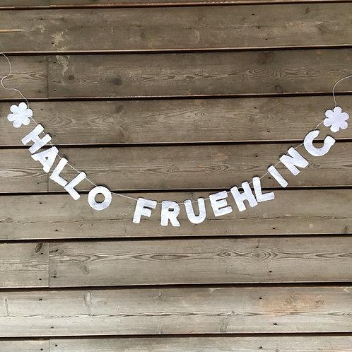 Girlande Hallo Frühling