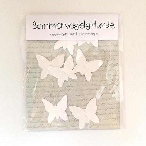 Sommervogelgirlande