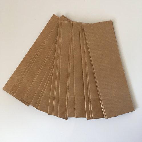 Set Bodentüte braun, Kraftpapier